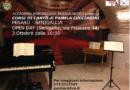 A Senigallia e a Pesaro corsi di canto tenuti dalla cantante Pamela Lucciarini