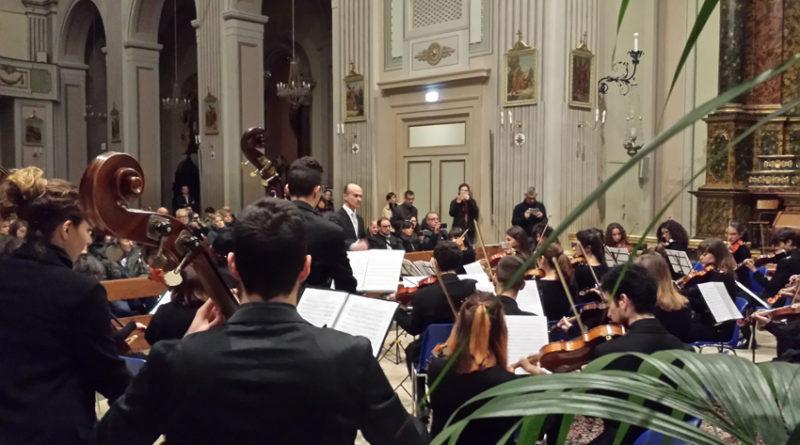 L'Orchestra giovanile d'archi del Conservatorio di Fermo ha aperto le manifestazioni del Natale di Sant'Elpidio a Mare