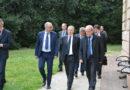 Il Governatore della Banca d'Italia Ignazio Visco in visita all'Istao