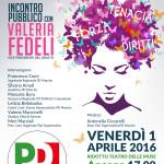 Quando la politica è donna, confronto ad Ancona