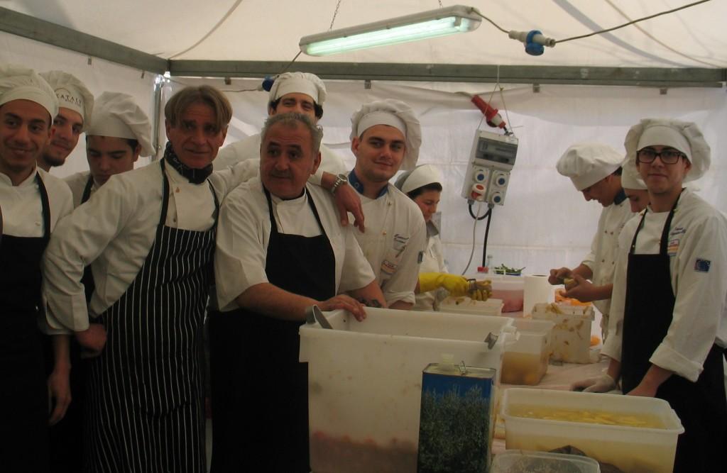 Presenze record al festival della cucina di mare - Cucina al mare ...