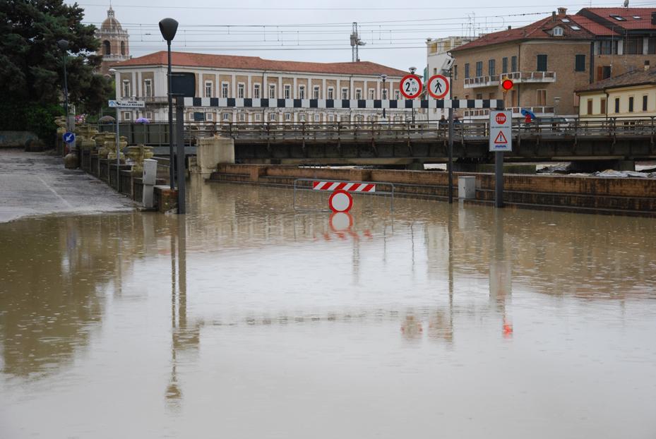 Nelle Marche troppe aree a rischio alluvione