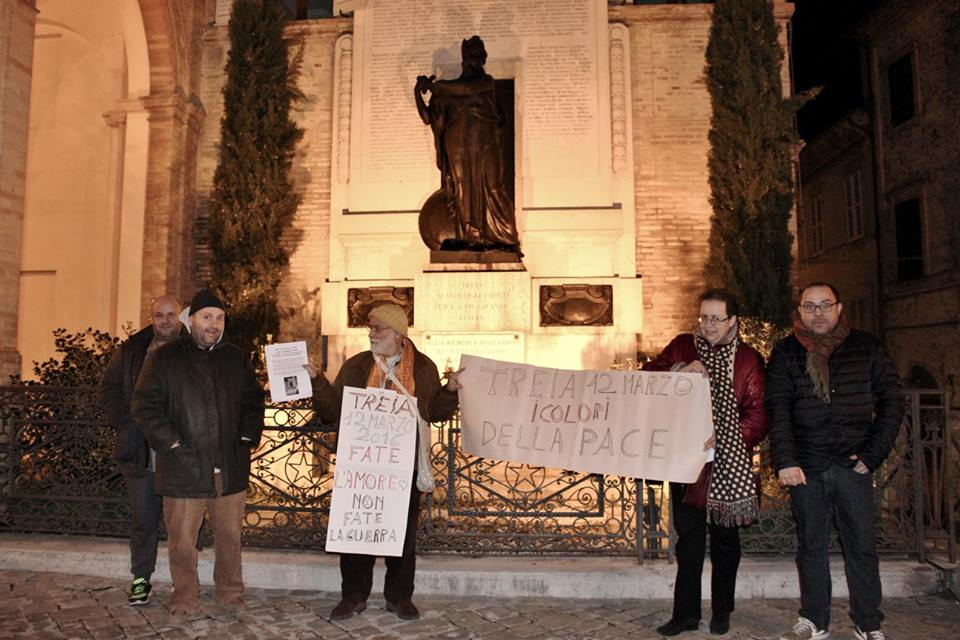 A Treia una manifestazione per dire no alla guerra