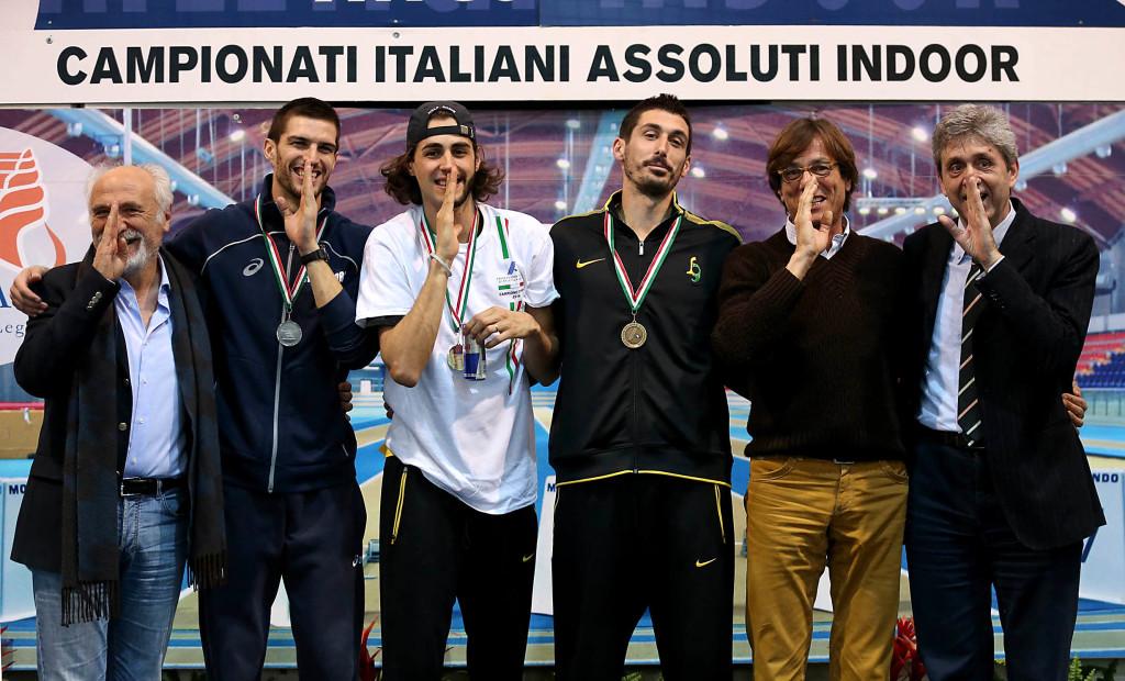 Gianmarco Tamberi superstar al Palaindoor di Ancona