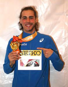Un grande Gianmarco Tamberi è campione del mondo