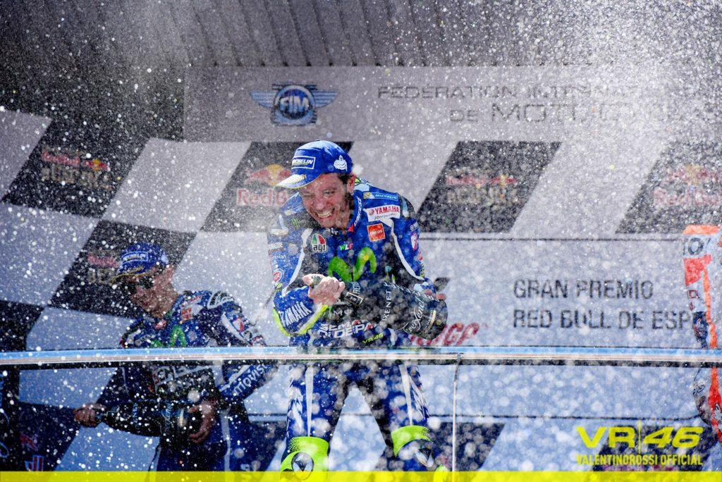 Valentino c'è! Domenica trionfale a Jerez