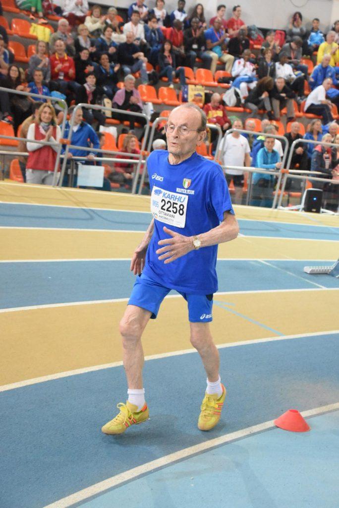 L'atletica marchigiana festeggia i 100 anni di Giuseppe Ottaviani