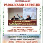 Padre Mario Bartolini racconta l'Amazzonia