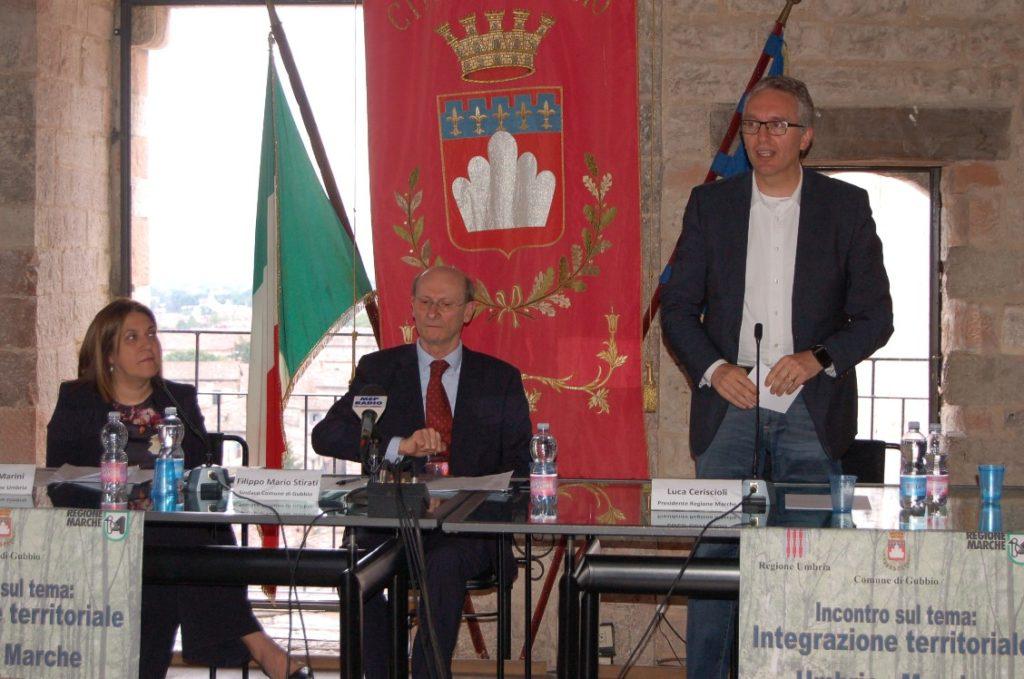 Marche e Umbria verso l'Italia di mezzo con la Toscana