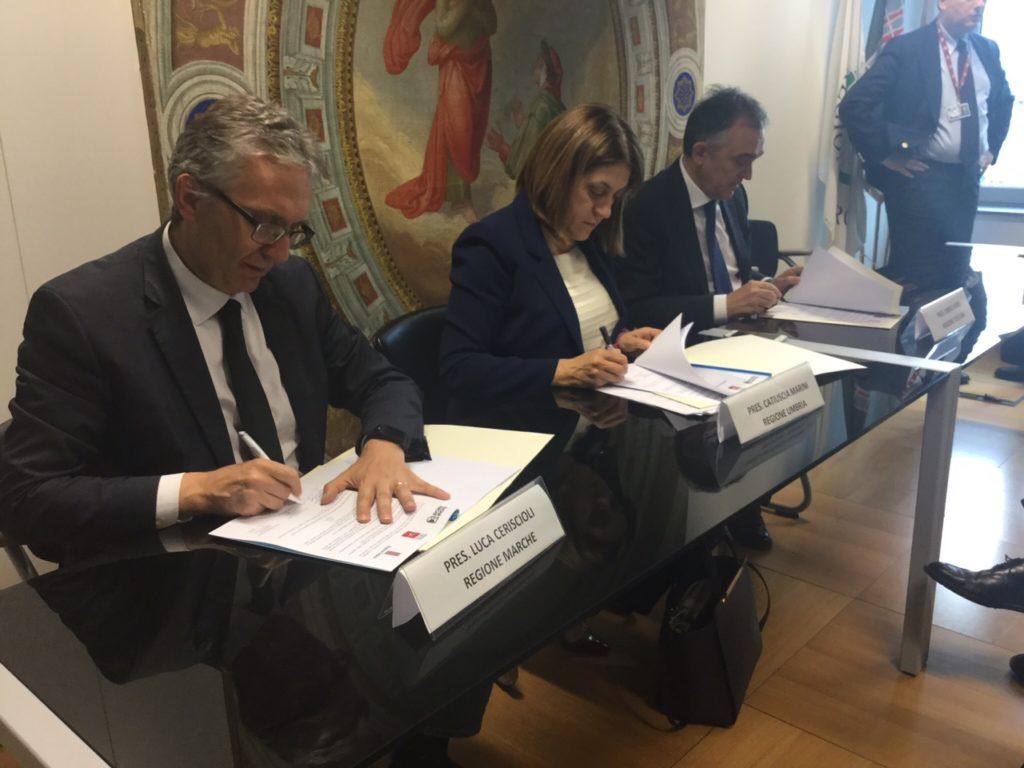 La macroregione Marche, Umbria e Toscana diventa sempre più concreta