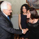La marchigiana Maria Letizia Gardoni ricevuta al Quirinale dal Presidente Mattarella