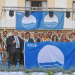 A Grottammare la grande festa delle Bandiere Blu marchigiane