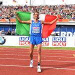 Gianmarco Tamberi vola sull'oro ai campionati europei di Amsterdam
