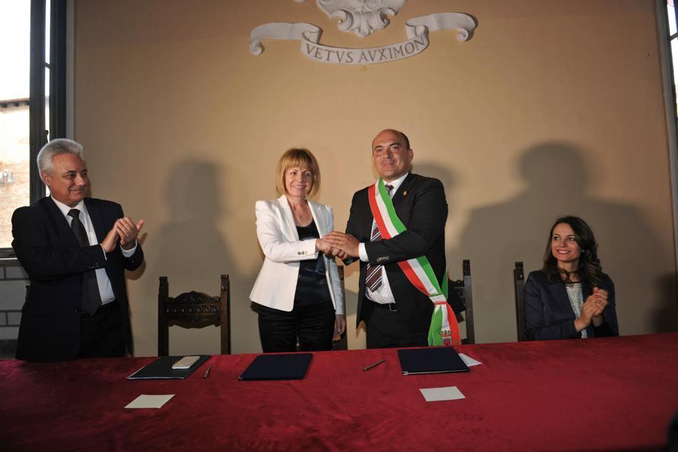 Il sindaco di Sòfia ad Osimo per la firma del gemellaggio tra le due città