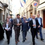 Una delegazione russa in visita nelle Marche