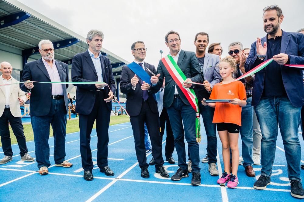 Inaugurata a San Benedetto la nuova pista di atletica