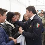 Matteo Renzi ad Arquata del Tronto per ridare speranza ai terremotati