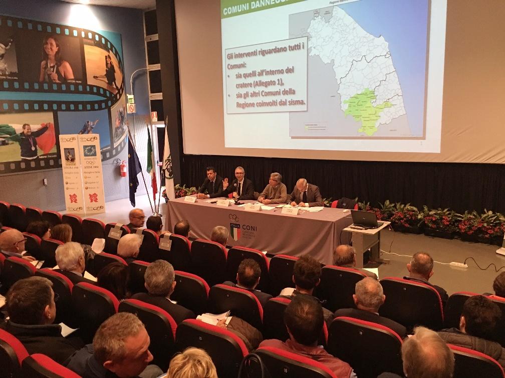 Insediato il Comitato istituzionale per la ricostruzione post sisma