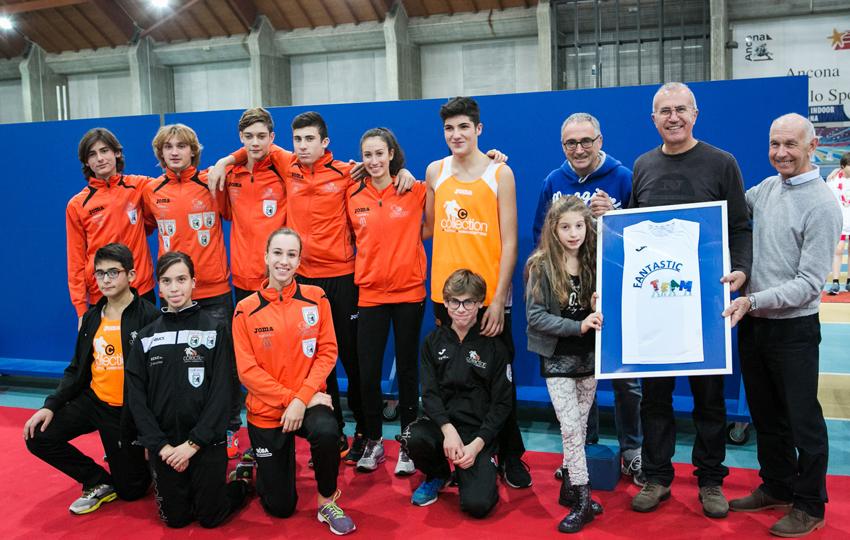 ANCONA / Palaindoor in festa con i giovani dell'atletica marchigiana