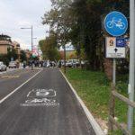 Inaugurata a Pesaro la ciclabile di via Cimarosa