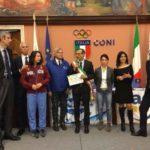 Riconoscimento a Pesaro Città europea dello Sport 2017