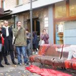 A Pesaro la panchina simbolo della lotta contro la violenza sulle donne