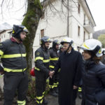 Il Presidente Sergio Mattarella a Ussita e nelle altre zone colpite dal terremoto