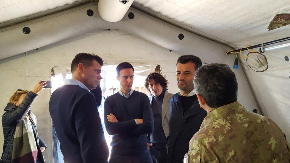 """Il presidente dell'Anci a Palazzo Chigi: """"I sindaci dei paesi terremotati non possono essere lasciati soli"""""""