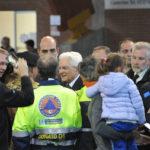 Il Presidente Sergio Mattarella nelle zone distrutte dal terremoto