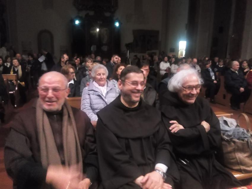 Al Santuario della Madonna delle Grazie di Pesaro tanti applausi per la Sinfonia Mariana di padre Armando Pierucci