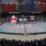 L'Eurosuole Forum di Civitanova già tutto esaurito per il big match Lube-Perugia