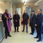 LE MARCHE DA RICOSTRUIRE / Nuova Banca Marche ha inaugurato a Camerino la filiale ospitata in un container
