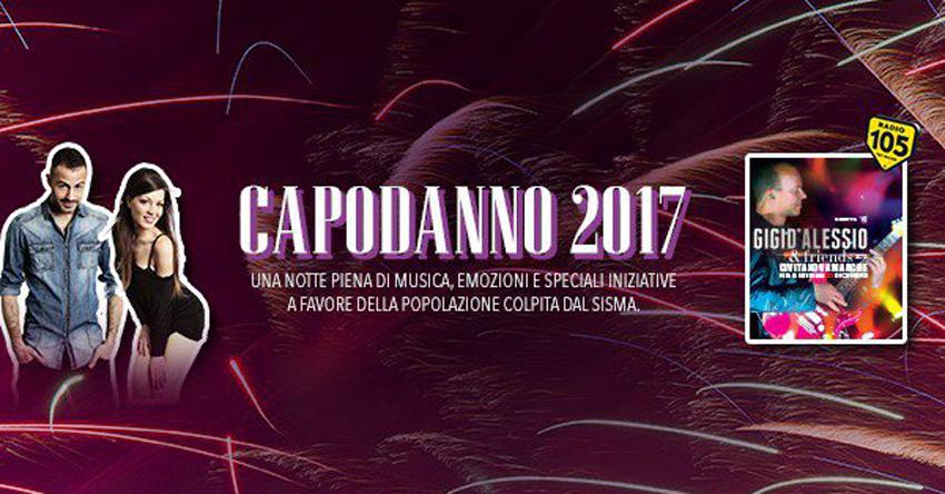 Da Civitanova Marche il Capodanno con Gigi D'Alessio in diretta su Canale 5