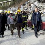 Il Presidente Sergio Mattarella è tornato nelle Marche devastate dal terremoto