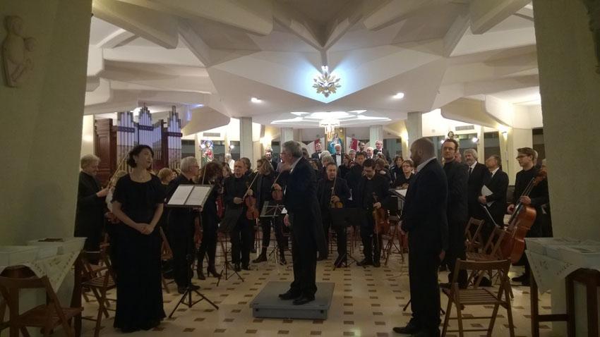 La Sinfonia Maria di padre Armando Pierucci conquista anche San Marino