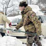 Nelle zone terremotate potenziato nelle ultime ore l'intervento dell'Esercito