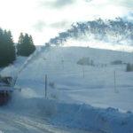 Dalla Provincia di Pesaro arrivano le turbine per liberare dalla neve le strade dell'Alto Maceratese