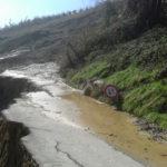 Strade disastrate per neve, frane e pioggia: in provincia di Ascoli Piceno avviati molti cantieri