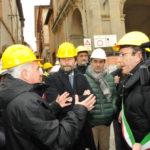 Il ministro Franceschini a Camerino città-simbolo della cultura sfregiata dal terremoto