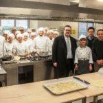 PESARO / Tagliolini e Dellonti in visita al rinnovato Alberghiero Santa Marta – Branca