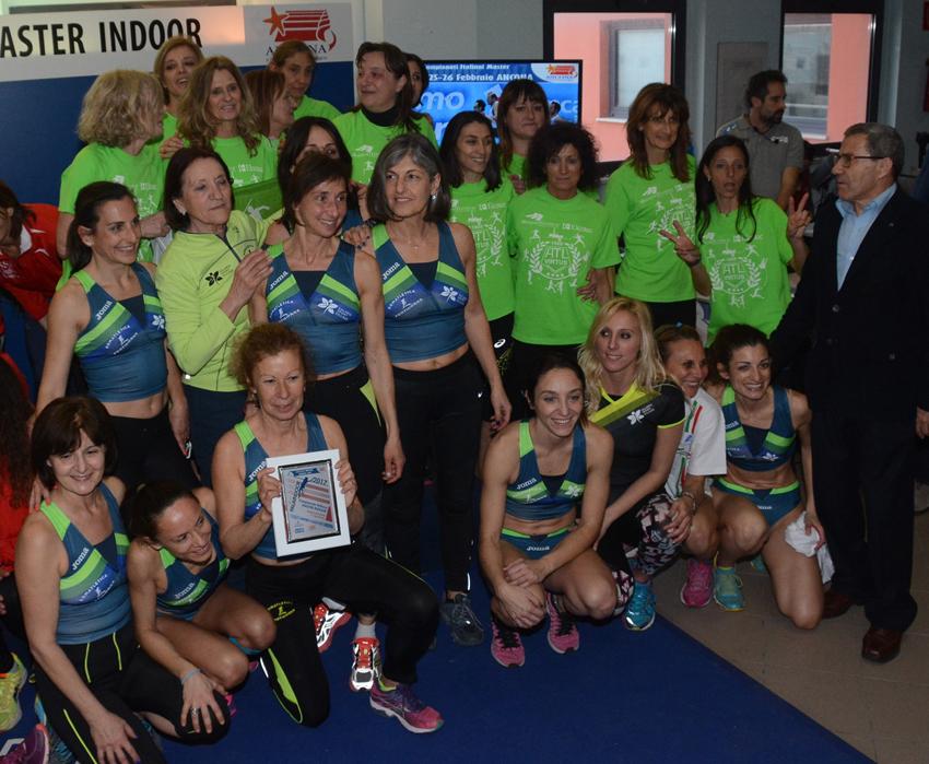 Al Palaindoor di Ancona 83 medaglie per i master delle Marche!