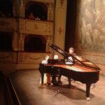 L'emozione del pianista Michele Campanella, tornato dopo 12 anni ad esibirsi a Pesaro
