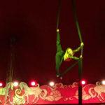 Alissa Iacomucci, ventunenne pesarese che si sta realizzando nel complesso mondo circense