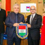 """REGGIO EMILIA / Consegnato alla Lube il Premio """"Campione del Primo Tricolore"""""""