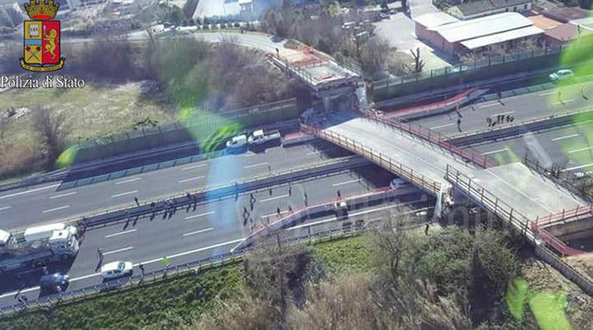 Il crollo del cavalcavia sull'autostrada, anche il Parlamento avvia un'indagine per fare chiarezza