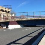 Il crollo del viadotto sull'A14 continua a creare notevoli disagi alla circolazione nell'area di Osimo Stazione