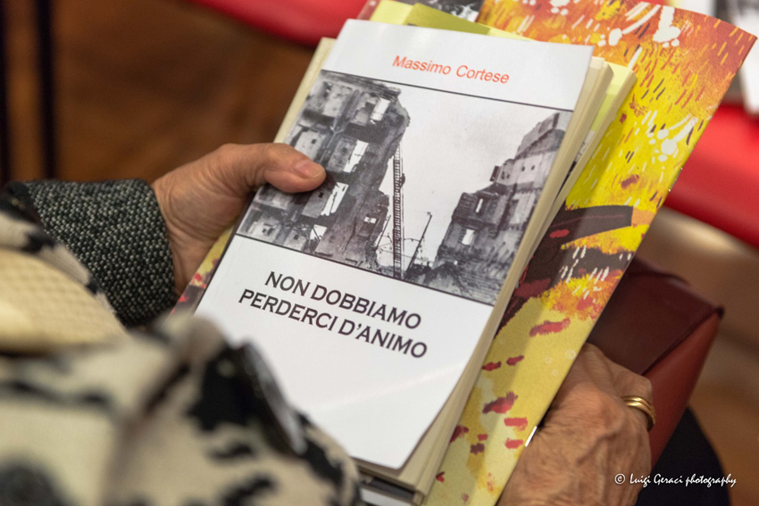 """Il racconto """"La figliolanza"""" dell'anconetano Massimo Cortese presentato a Foggia"""
