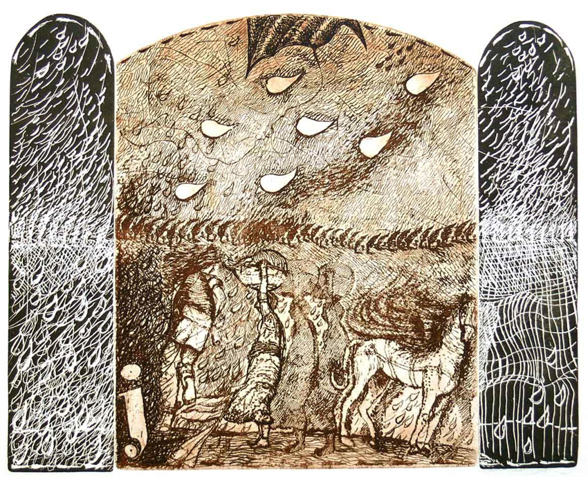 Incisione e grafica al Cesma di Roma: quando l'artista (Carlo Iacomucci) è…bifronte