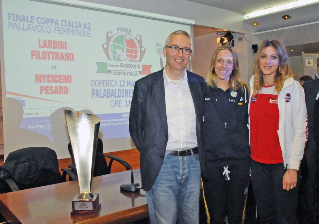 Al PalaBaldinelli di Osimo la finale di Coppa Italia A2 di volley femminile
