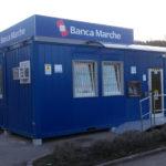 A Pievebovigliana è operativa la filiale-container di Nuova Banca Marche
